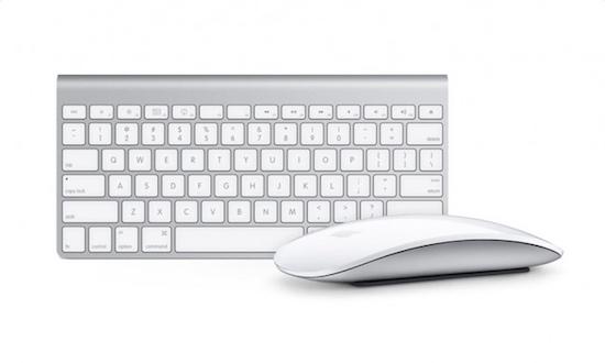 Apple muis en toetsenbord