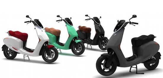 Deze Nederlandse scooter is een mix van Tesla