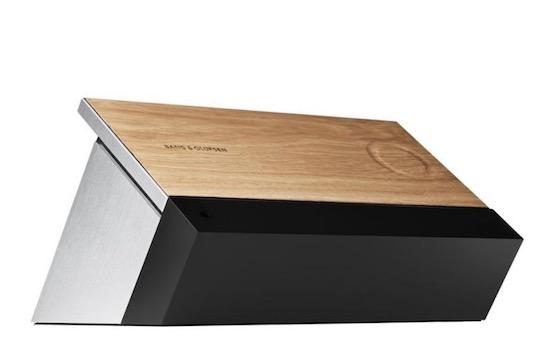Nieuwe tablet van Bang & Olufsen is gemaakt van hout