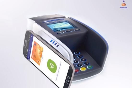 Rabobank-klanten kunnen nu betalen met hun smartphone