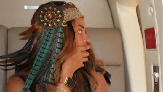 Beyoncé en haar bijzondere Apple Watch