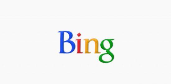 Bing Google logo