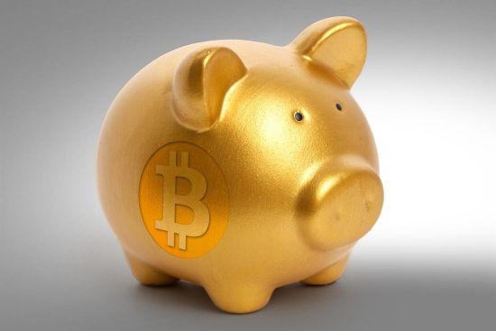 Bitcoin spaarvarken