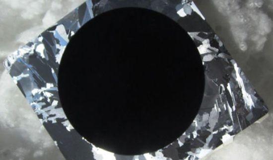 Zwart Silicium Zonnencel