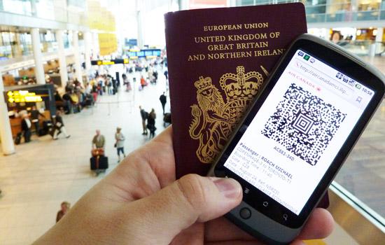 Je neemt een risico als je een foto van je boarding pass deelt