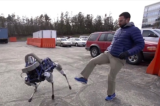 Dit is Spot, de nieuwe robothond van Google