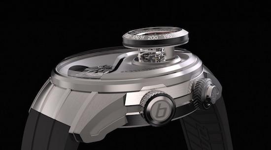 Dit is het eerste horloge met een snelheidsmeter