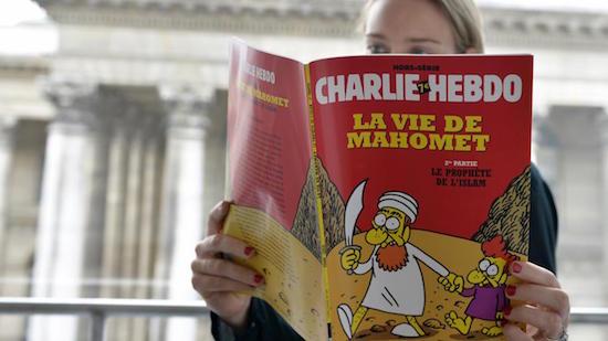 Google schiet Charlie Hebdo te hulp