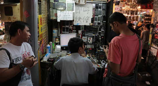 Chinezen bestellen geweld per app