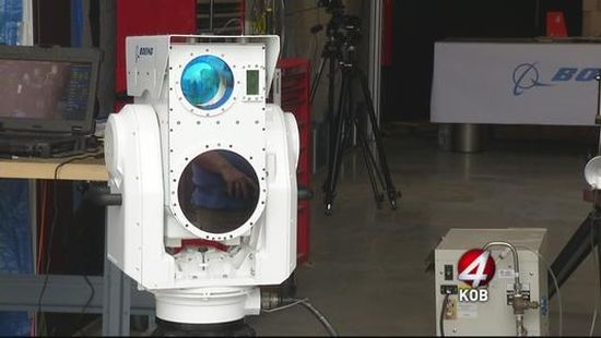 Compact laser weapons system