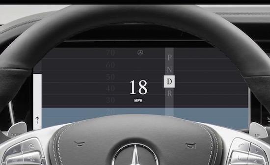 Een blik op het autodashboard van de toekomst