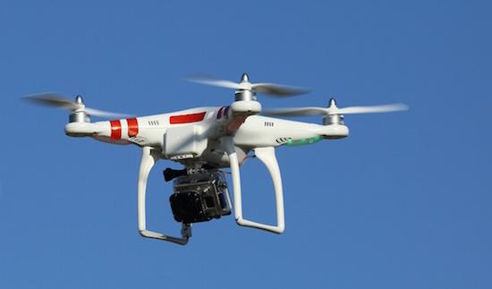 drone gebruikt voor vervoeren drugs