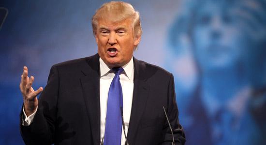Donald Trump heeft het aan de stok met Anonymous