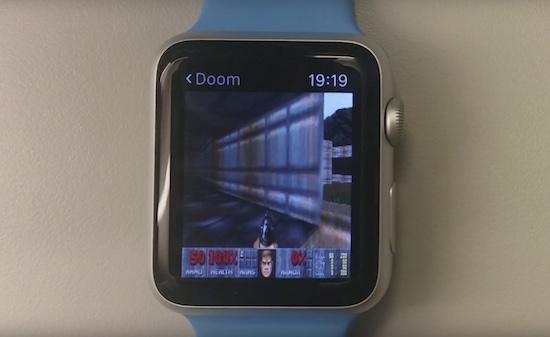 Doom op de Apple Watch