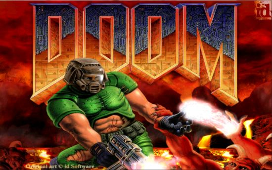 Doom logo original