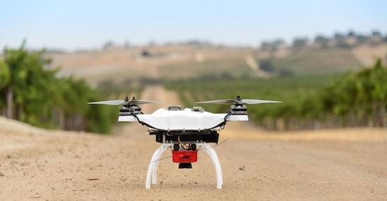 Witte drone