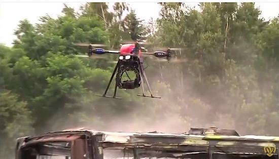 Eindelijk: Nederlandse brandweer gaan vuur bestrijden met drones