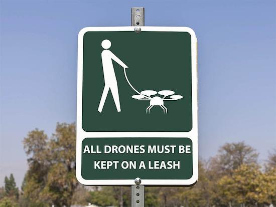 Drone bordje