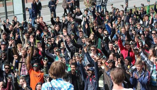 Studenten vestigen wereldrecord