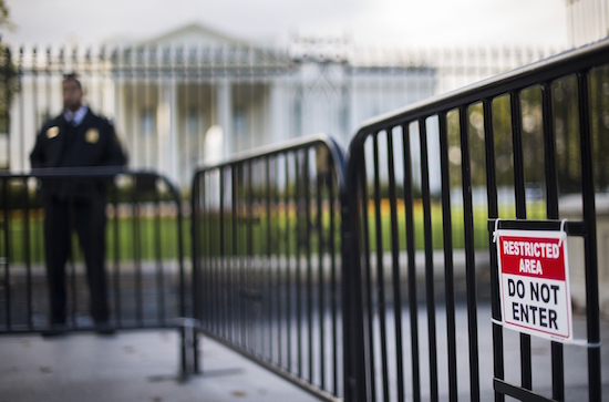 Drone crasht in tuin Witte Huis