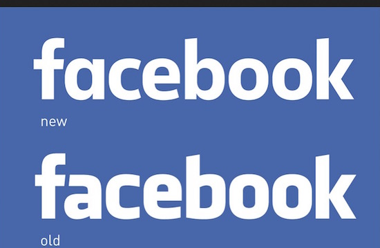 Facebook heeft een nieuw logo. Niemand ziet het