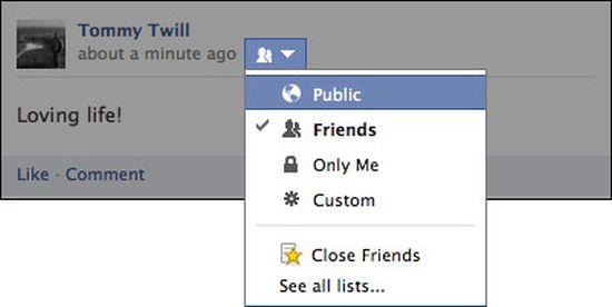 Facebook Openbaar