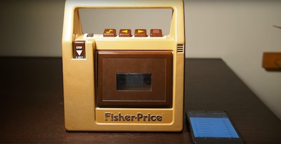 Fisher-Price casettespeler