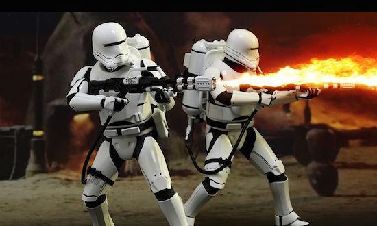 Koop dan! Star Wars Flametrooper