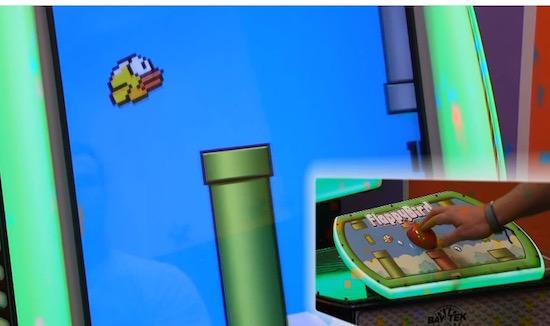 Hebben! Flappy Bird op een arcadekast