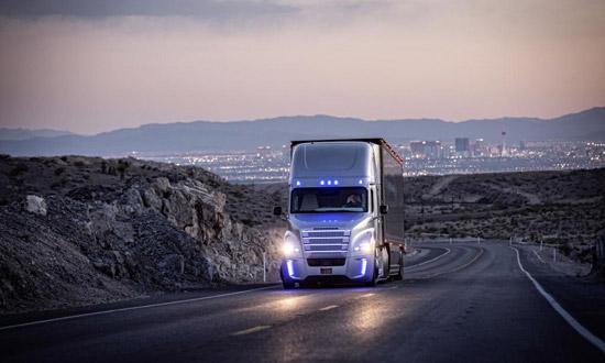 Frightliner Inspiration: de autonome truck van Daimler