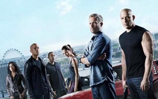 Furious 7 opnieuw de meest gedownloade film
