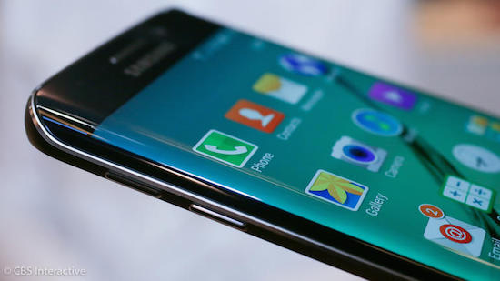 De gewone Galaxy S6 Edge