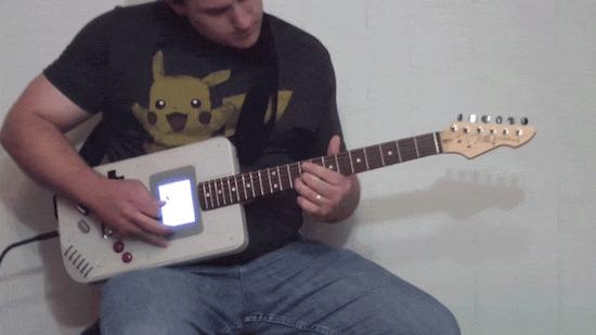 Gameboy gitaar