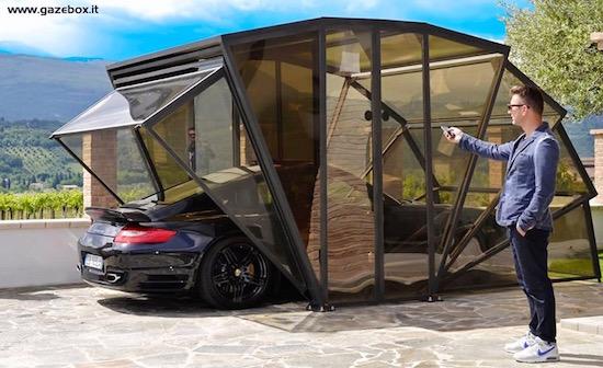 Met de Gazebox kun je je auto altijd blijven showen