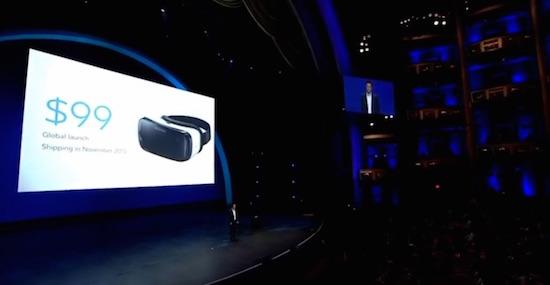 Samsung komt met nieuwe Gear VR