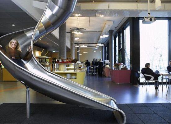 Glijbaan Google Kantoor