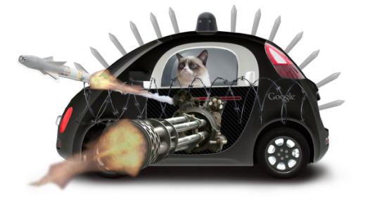 Google Car Kat