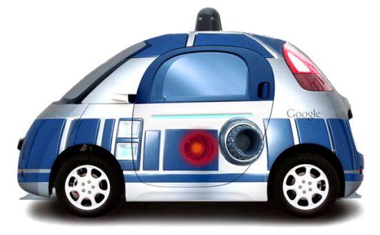 Google car R2D2