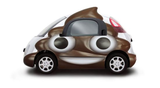 Google Car Stront