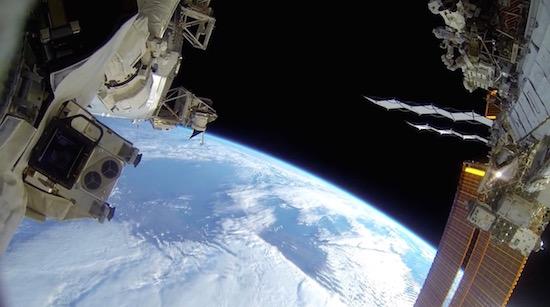Unieke GoPro-beelden laten de ruimte zien