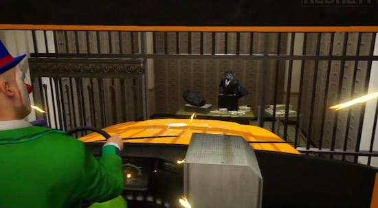 Iemand heeft de bankoverval uit The Dark Knight nagedaan in GTA 5