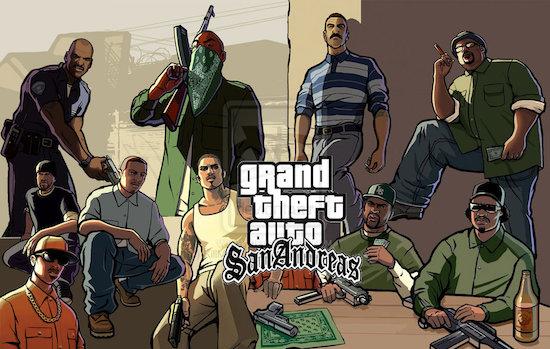 GTA San Andreas beschikbaar voor PlayStation 3