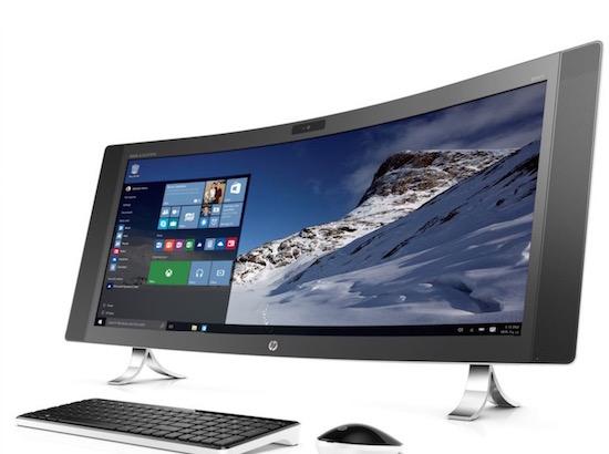 HP heeft een gebogen all-in-one PC gemaakt