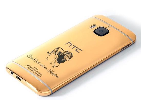 Goduen HTC One M9 ter ere van Cecil de leeuw