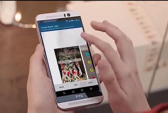 Bekijk de HTC One M9 van alle kanten in deze video's