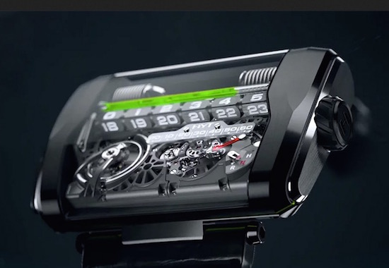 Dit horloge van €2,6 ton werkt op vloeistof