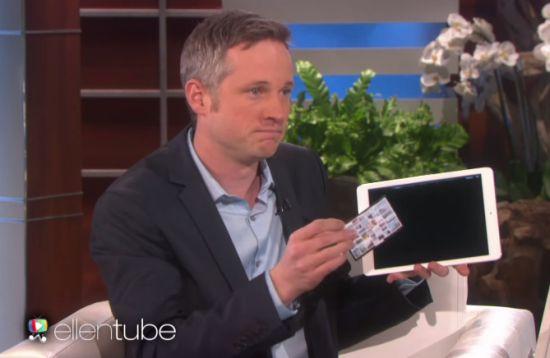 iPad-Goochelaar
