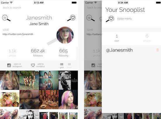 Gevonden! De ideale app voor Instagram-stalkers