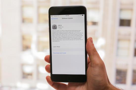 Apple-gebruikers niet blij met iOS9