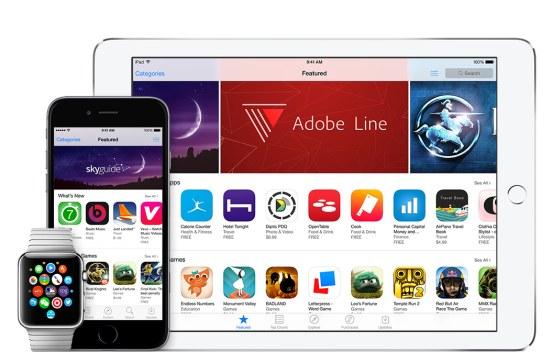 iOS 9 appstore